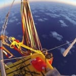Pilots reach record distance in flight in helium balloon