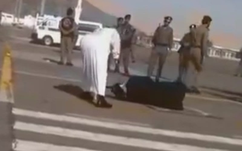 Saudis Arrest Man Who Filmed Beheading