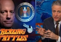 Jon Stewart Goes After Obama Admin's Prosecution of Whistleblowers