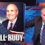 Jon Stewart on Rudy Giuliani You Don't Own 911 [VIDEO]