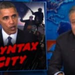 Stewart Slam Conservative Media Over Obama Radical Islam'Strategy[VIDEO]