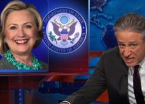 Jon Stewart Takes on Hillary's Email Address-Ghazi' Scandal [VIDEO]