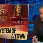Jon StewartTakes on Ferguson Police & Fox News