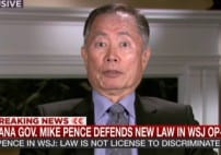 MSNBC' Odonnell Talks With Takei Indiana Law Affects All Americans [VIDEO]