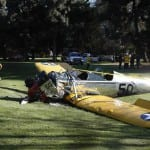 harrison ford plane crash scene
