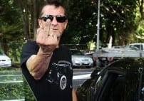 AC:DC's Drummer Phil Rudd Pleads Guilty To Threat To Kill [VIDEO]
