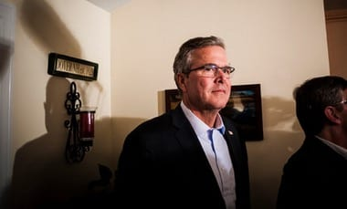 Jeb Bush Flip Flops on His Praise of Indiana Law