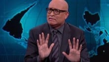 Larry Wilmore Puzzled by Cop Who Refused to Kill Suspect Yelling 'Shoot Me!'
