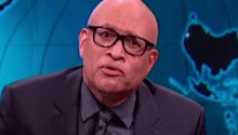 Larry Wilmore surprise by Cop Who Refused to Kill Suspect