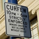 curfew imposed in baltimore