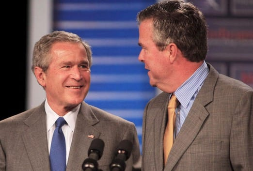 Jeb bush names George W as most important foreign policy advisor