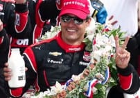 Juan Pablo Montoya Wins Indy 500 [VIDEO]