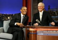 Obama in Final Late Show Appearance with Letterman