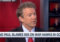 Rand Paul Tells the Truth Blames ISIS on the GOP War Hawks