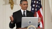 Twitter Welcomes President Obama