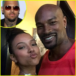 scumbag chris-brown-threatens-tyson-beckford over karrueche tran