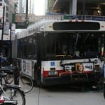 1 dead, 8 injured in bus crash in downtown Chicago
