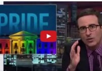 John Oliver CNN Mistakes Dildo Flag for ISIS in Pride Parade