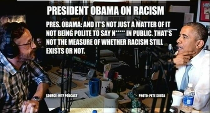 president obama on racism and the n-word