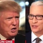 Donald Trump to Anderson CooperThe People Don't Trust You' [VIDEO]