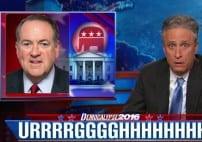 Jon Stewart Is Left Completely Speechless By Mike Huckabee [VIDEO]