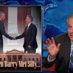 Jon Stewart On WH Visits- Obama Wanted to Know Why I'm 'Such an Asshole'