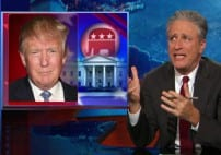 Jon Stewart Trump Is 'Living Embodiment of Everything Republicans Were Trying to Exorcise'