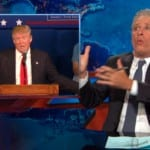 Jon Stewart on Donald Trump Eating Ice Cream on a Roller Coaster Made of Blowjobs