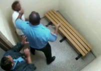 New Orleans Cop Beat Teen Girl in Jail