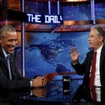 Part 1 - President Obama To Jon Stewart You Cannot Leave[VIDEO]