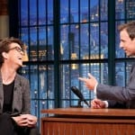 Rachel Maddow and Seth Meyers Jokes About Donald Trump [VIDEO]