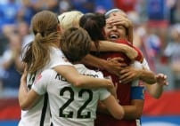 USA defeats Japan at Women's World Cup