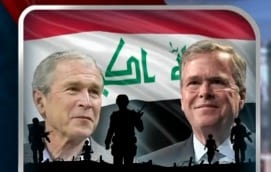 Bush blames Clinton, Obama for rise of ISIS and says overthrowing Saddam Hussein a pretty good deal
