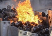 Explosion, Clashes in Ukraine Parliament