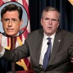 Jeb Is Colbert's Opening Night Guest [VIDEO]
