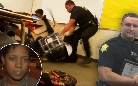 Assault At Spring Valley High Student Slammed To Floor And Dragged By Cop [VIDEO