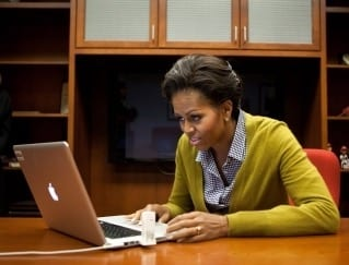 Michelle Obama to Launch College WebSite BetterMakeRoom
