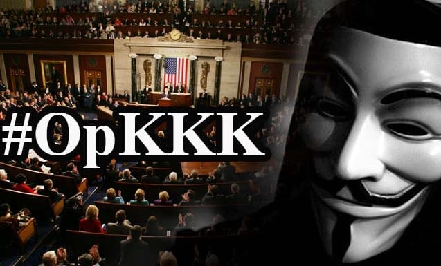 Anonymous Hackers Group Released KKKList Which Include GOP Senators