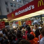 Fast Food Workers Strike, Seeking $15 Wage [VIDEO]