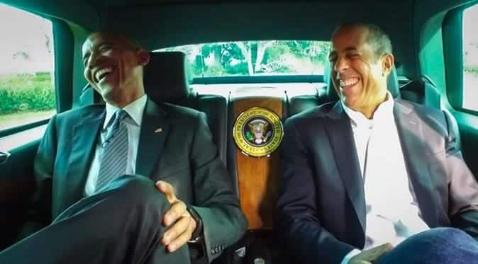 Obama to appear on Seinfelds Comedians in Cars Getting Coffee