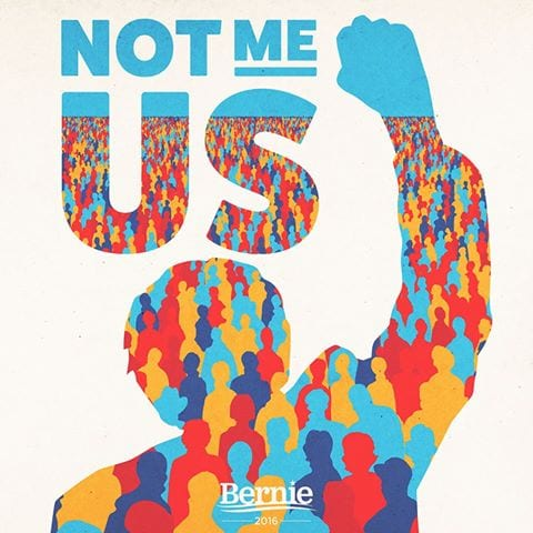 BernieSanders Not Me us