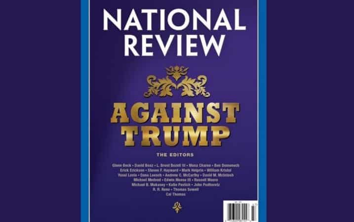 National Review Writers Unite for Anti-Trump Manifesto