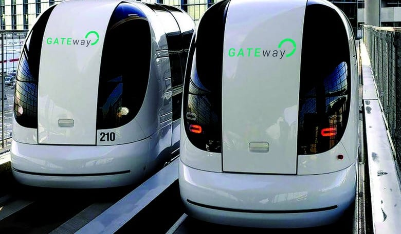 The first driverless POD cars in London have been revealed