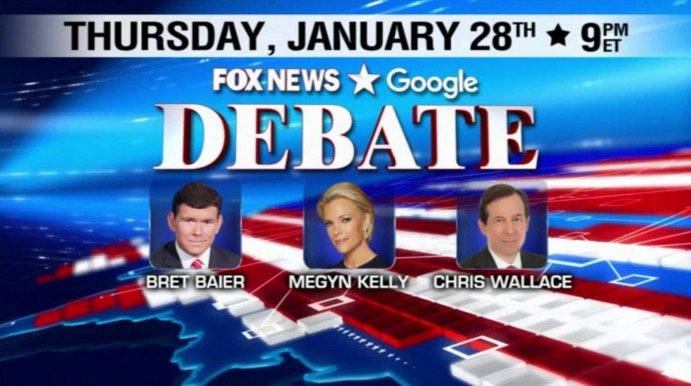 Watch Tonight Last Fox's Republican Debate Before Iowa Caucus Live