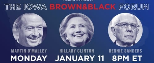 the iowa black and brown dem forum