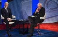 "Bernie At Democrats Town Hall ""I Am Larry David"" [VIDEO]"