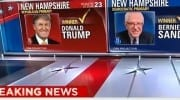Bernie Sanders Donald Trump Wins New Hampshire