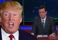 Colbert Taunts Trump's Iowa Fail LOL [VIDEO]