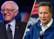 Sanders, Kasich Win First Votes in N.H. [VIDEO]