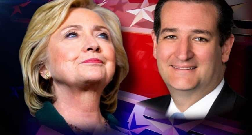 Ted Cruz, Hillary Clinton lead among Texas voters in latest poll